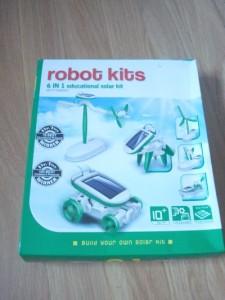 6 on 1 solar robot kit