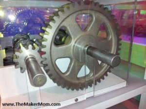 Gears at Discovery World Museum Milwaukee, WI