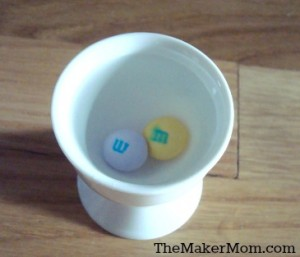 How to remove the M from and m&M