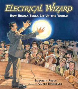 Nikola Tesla biography picture book for kids