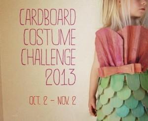 cardboard costume challenge