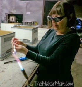 Chicago Hot Glass with the Maker Mom