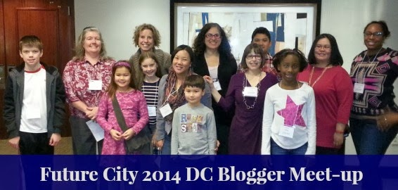 Washington DC mom bloggers at the Future City engineering competition for middle school students