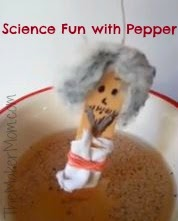 Science Fun for Kids with Pepper from TheMakerMom.com