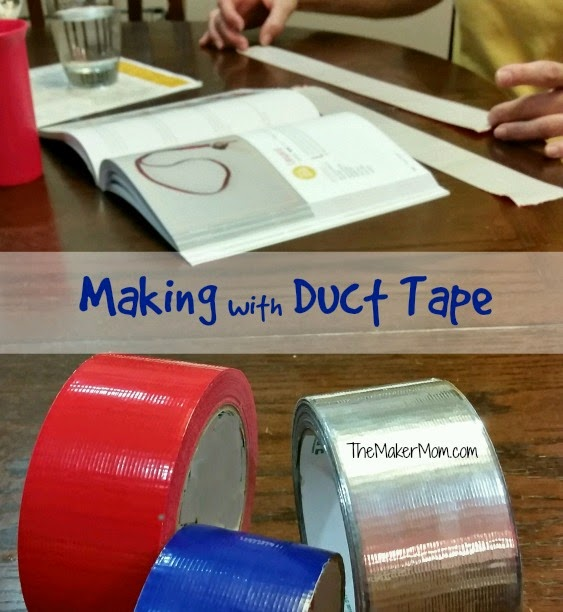 making and crafting with duct tape TheMakerMom.com