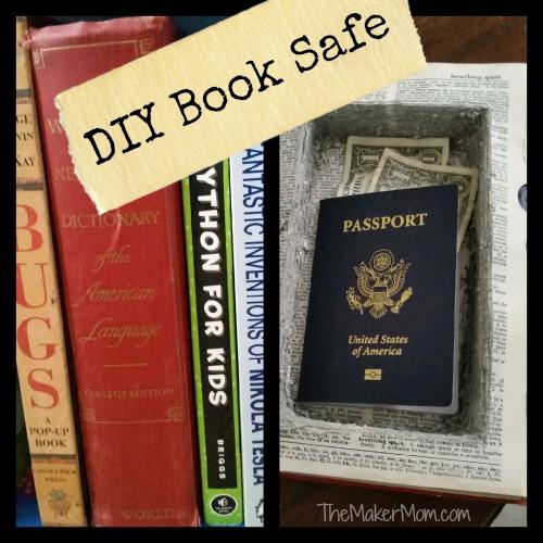Make A Diy Book Safe With The Maker Mom