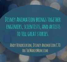 Andy Hendrickson, Chief Technology Officer Disney Animation
