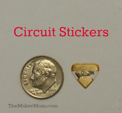 Circuit Stickers review on TheMakerMom.com