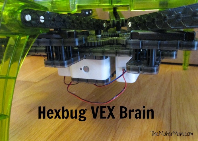 Hexbug VEX Robotics kit. Build your own robot! Review at www.themakermom.com