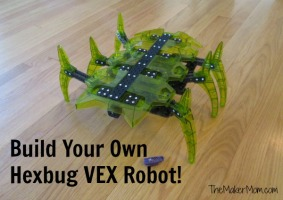 Build your own Hexbug VEX robot!