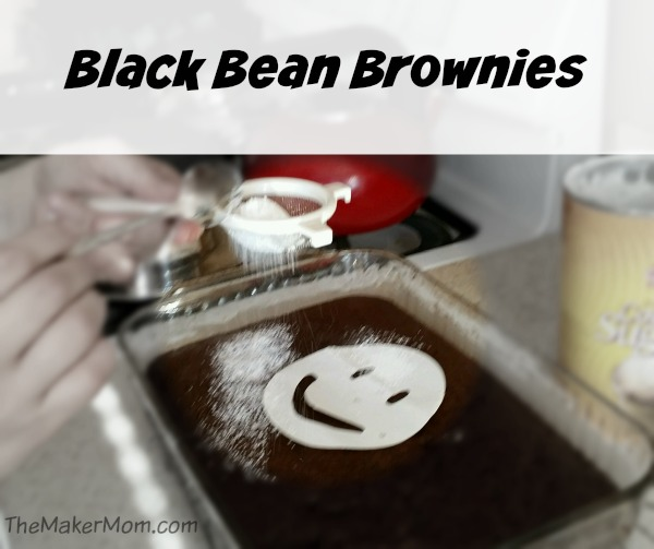 Black Bean Brownie recipe from www.TheMakerMom.com