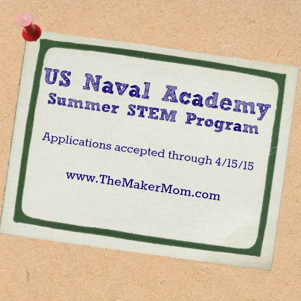 US Naval Academy Summer STEM camp