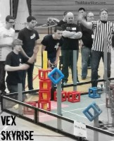 VEX Skyrise Start a VEX team or free. Learn more at TheMakerMom.com