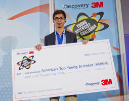 Sahil Doshi America's Top Young Scientist 2014