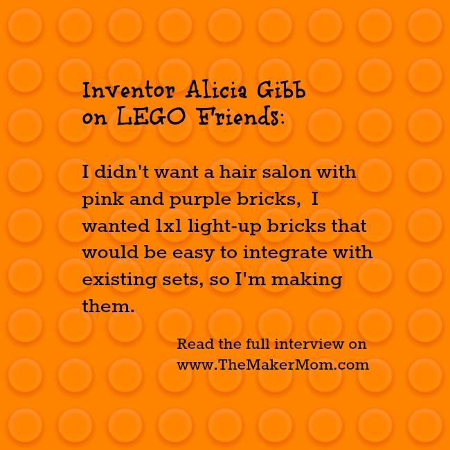 Meet Build Upons inventor Alicia Gibb on www.TheMakerMom.com