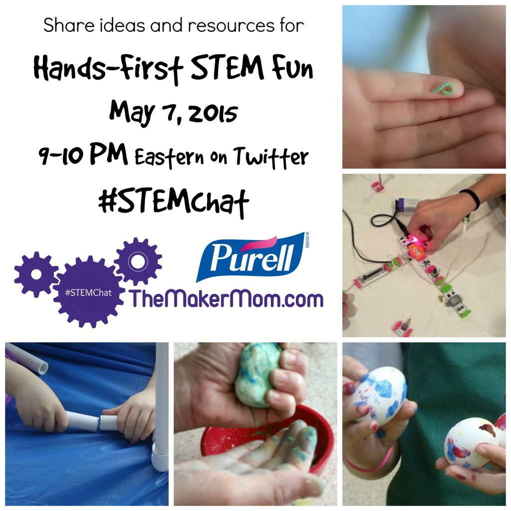 STEMchat on Hands-First STEM Fun with Purell