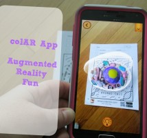 ColAR App Augmented Reality Fun on www.TheMakerMom.com
