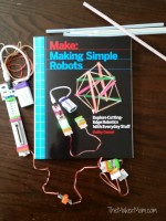 Kathy Ceceri's Making Simple Robots on www.TheMakerMom.com.