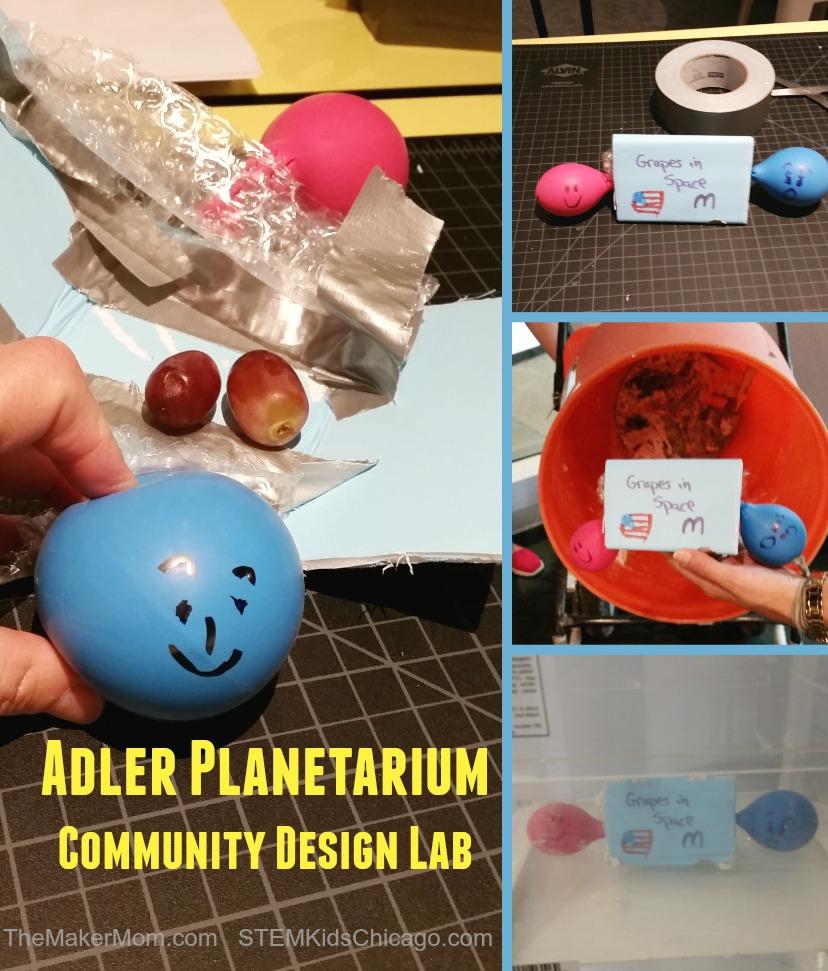 Chicago, Adler Planetarium Community Design Lab on www.TheMakerMom.com
