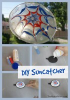 DIY Suncatcher at www.TheMakerMom.com.