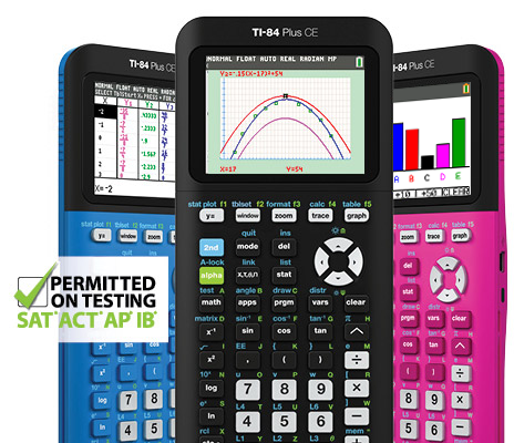Texas Instruments Calculators. Meet the TI 84 Plus CE. Win one at www.theMakerMom.com.