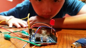 Meet Maker Kid Lucas Bourgeois. on www.TheMakerMom.com.