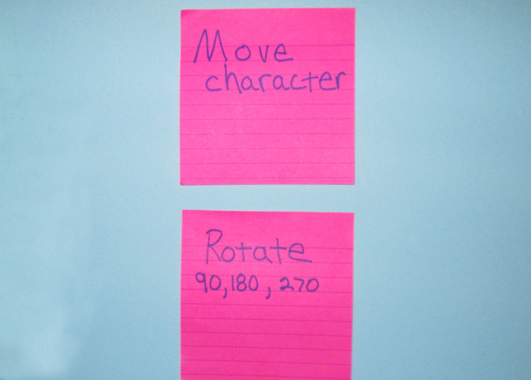 pink commands