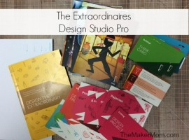The Maker Mom reviews The Extraordinaires Design Studio Pro.