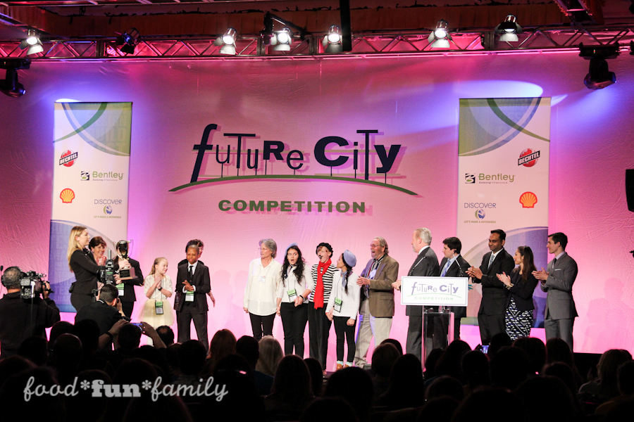 The Future City Engineering competition for middle school students challenges students to create a better world.