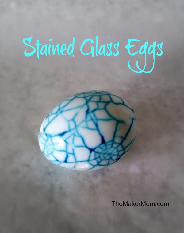 stained Glass eggs