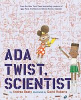 Ada Twist, Scientist. Read more about this great new book on TheMakerMom.com.
