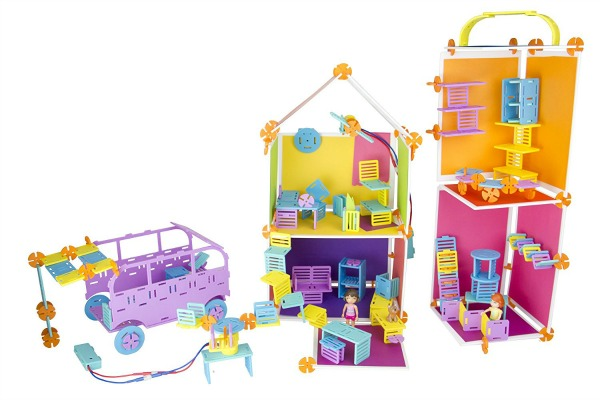 Roominate STEM toys for girls (and boys).