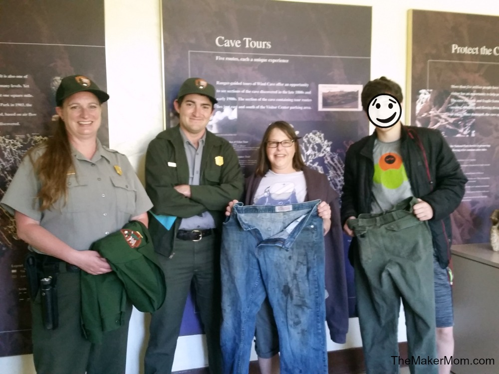 Best Wild West Vacation: Helpful park rangers at Wind Cave National Monument
