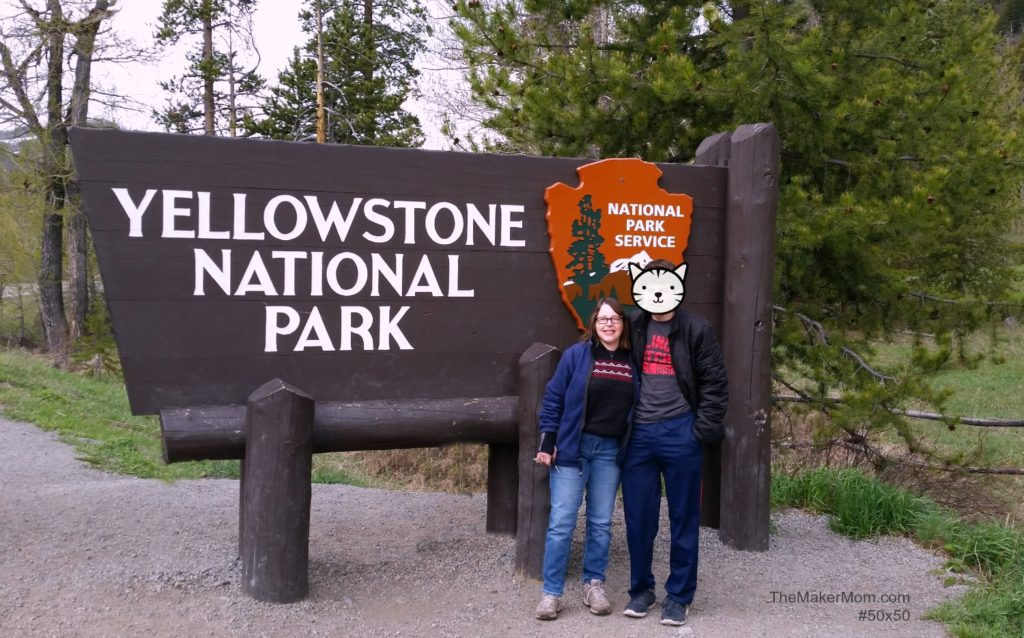 Yellowstone National Park, part of the Best Wild West Vacation