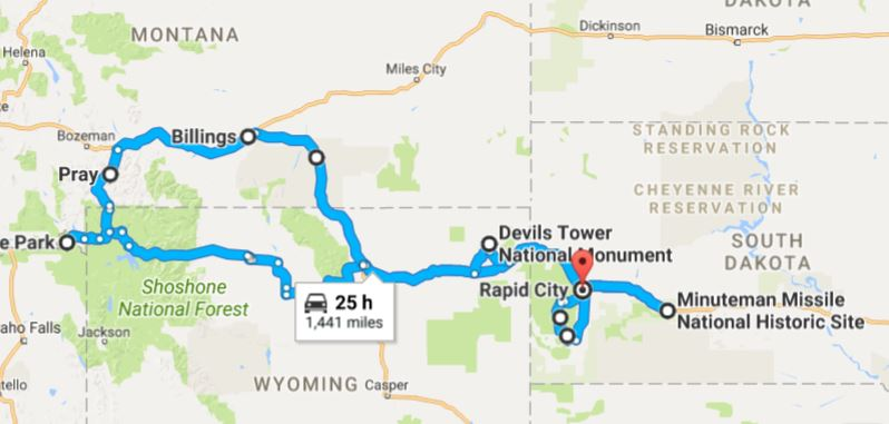 Best West Vacation Plan to Yellowstone, the Black Hills and more