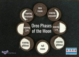 learning phases of the moon with Oreo cookies on TheMakerMom.com