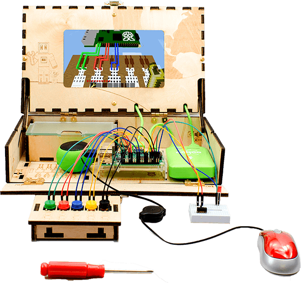 Piper DIY computer kit for kids.