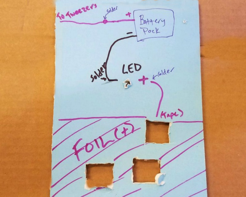 Circuit Map for DIY Operation game