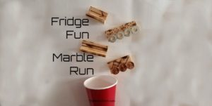 Make a DIY marble run!