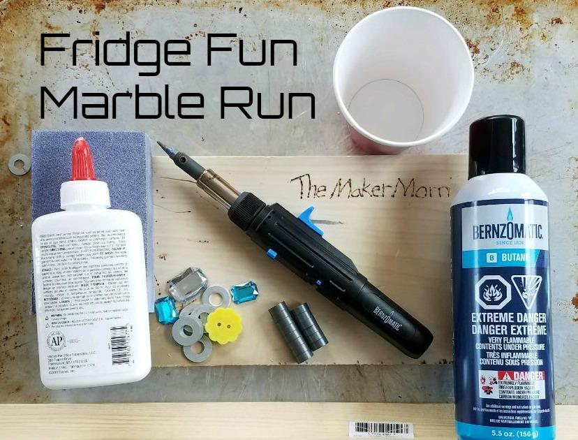 Make DIY Fridge Fun Marble Run