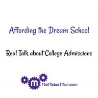 Affording your child's dream college. Tips from The Maker .