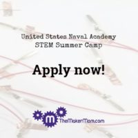 Apply now to the United States Naval Academy Summer STEM Camp for high school students.